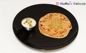 Radish Paratha / Mooli Paratha