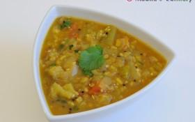 Kathirikai Gosthu/ Brinjal Gosthu (Eggplant Gravy)