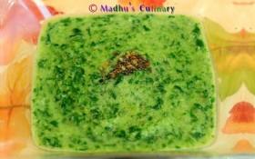 Keerai Masiyal / Spinach Dal Gravy