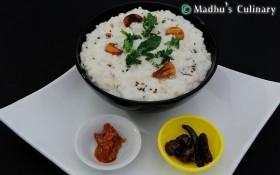Curd Rice (Thayir Sadam / தயிர் சாதம்)