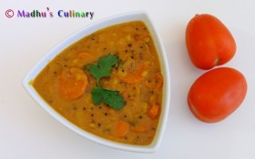 Tomato Sambar (தக்காளி சாம்பார்)