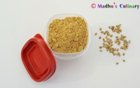 Coriander Seed Powder / Kothamalli Verai Podi