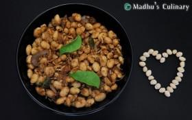Mocha Kottai Sundal (Val Dal / Cutlass Beans)