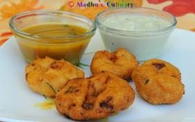 Spicy Lenthil Donut (Medhu Vadai )