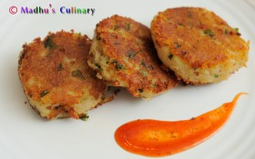 Aloo Tikki / Potato Pattie