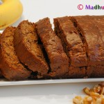 Eggless Banana Nut Loaf