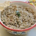 Sesame Seed Rice / Ellu Saadam