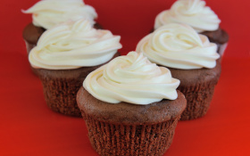 Eggless Chocolate Cupcake