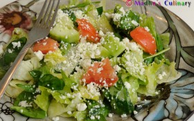 Iceberg Salad – Forkful of Freshness!