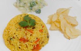 Tomato Rice / தக்காளி சாதம்