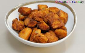 Seppankizhangu Fry / Colocasia Roots Fry