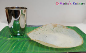 Appam with Coconut Milk