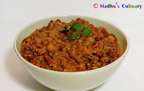 Sprouts Masala